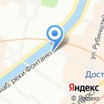 Продуктовый магазин на карте Санкт-Петербурга