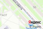 Схема проезда до компании Энаргит в Санкт-Петербурге