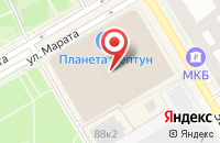Схема проезда до компании Фотопроект в Санкт-Петербурге