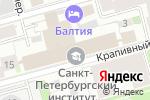 Схема проезда до компании Международный банк Санкт-Петербурга в Санкт-Петербурге
