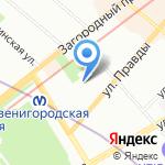 Центр питания и коррекции фигуры на карте Санкт-Петербурга