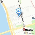 Десна Глобал на карте Санкт-Петербурга