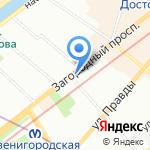 Формула здоровья на карте Санкт-Петербурга