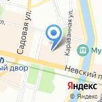 А-Я на карте Санкт-Петербурга