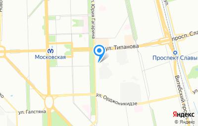 Местоположение на карте пункта техосмотра по адресу г Санкт-Петербург, пр-кт Юрия Гагарина, д 32