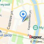 Япоша на карте Санкт-Петербурга