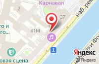 Схема проезда до компании Петербург-Концерт в Санкт-Петербурге