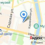 ЛЕВ на карте Санкт-Петербурга