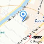 Столовая №5 на карте Санкт-Петербурга