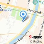 Театр юношеского творчества на карте Санкт-Петербурга
