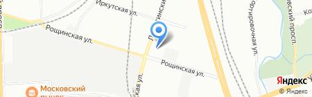 Химтранс на карте Санкт-Петербурга