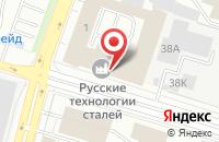Схема проезда до компании Ютас в Санкт-Петербурге