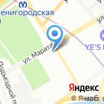 Life Extreme на карте Санкт-Петербурга