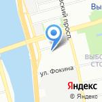 Представительство Вологодской области в Северо-Западном федеральном округе на карте Санкт-Петербурга