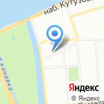 Кожно-венерологический диспансер №11 на карте Санкт-Петербурга