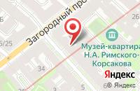 Схема проезда до компании Савикс-Лтд в Санкт-Петербурге
