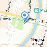 Петрополь на карте Санкт-Петербурга