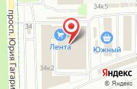 Схема проезда до компании Теплолюкс в Санкт-Петербурге