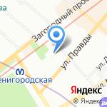 Средняя общеобразовательная школа №321 на карте Санкт-Петербурга