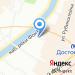 Йога хорошей жизни на карте Санкт-Петербурга