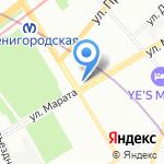 Бери и Беги на карте Санкт-Петербурга