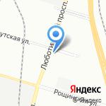Невская стекольная компания на карте Санкт-Петербурга