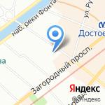 Санкт-Петербургская академия постдипломного педагогического образования на карте Санкт-Петербурга