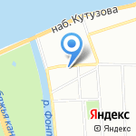 IVAO на карте Санкт-Петербурга