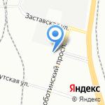 ТехноБалт на карте Санкт-Петербурга