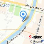 Старт на карте Санкт-Петербурга