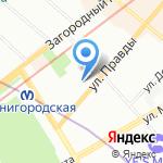Pioner правда на карте Санкт-Петербурга