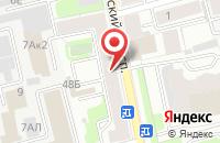 Схема проезда до компании Принтлайн в Санкт-Петербурге