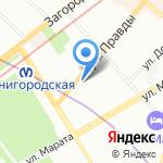 Санкт-Петербургский киновидеотехнический колледж на карте Санкт-Петербурга