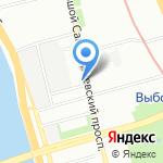 Меди КА на карте Санкт-Петербурга