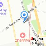 Клиническая больница на карте Санкт-Петербурга