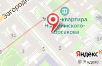 Схема проезда до компании Саббокс в Санкт-Петербурге