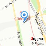 Балтрос на карте Санкт-Петербурга
