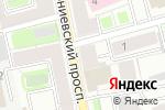 Схема проезда до компании ЦБО Эталон в Санкт-Петербурге