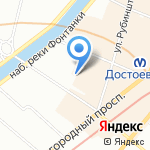 Детский сад №97 компенсирующего вида на карте Санкт-Петербурга