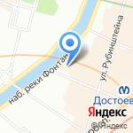ASA ART Gallery на карте Санкт-Петербурга