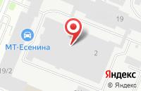 Схема проезда до компании Промкомплекс в Санкт-Петербурге