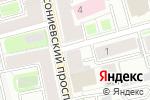 Схема проезда до компании Доказательство в Санкт-Петербурге