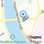 Омега Строй на карте Санкт-Петербурга
