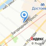Sushi Box на карте Санкт-Петербурга