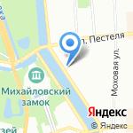 Городской врачебно-физкультурный диспансер на карте Санкт-Петербурга