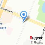 Муниципальное образование округ Парнас на карте Санкт-Петербурга