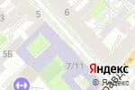 Схема проезда до компании Центр большого тенниса СПБ в Санкт-Петербурге