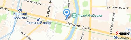Camel Active на карте Санкт-Петербурга