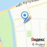 Магазин товаров для дома на карте Санкт-Петербурга