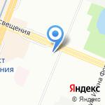 Пышечная на карте Санкт-Петербурга